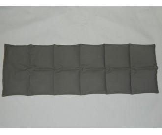 Tour de cou chauffant en graine de lin - Beige Vison BIO