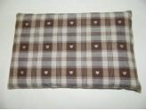 Bouillotte graine de lin et Lavande Marron BIO