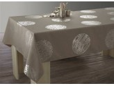 Nappes Anti-Tâches Cosmos Taupe 150*300